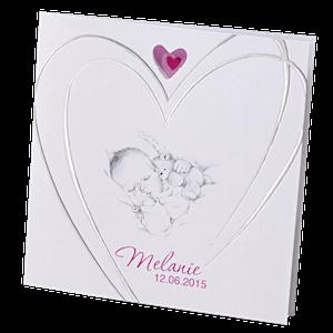 Lief babykaartje met pentekening I Belarto 715924