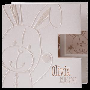 Schattig babykaartje met konijn I Belarto 715923