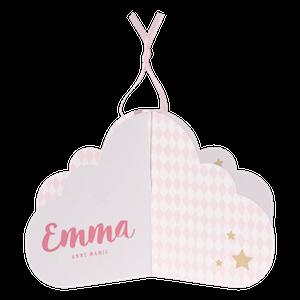 Schattig geboortekaartje in de vorm van een wolkje I Buromac 586029