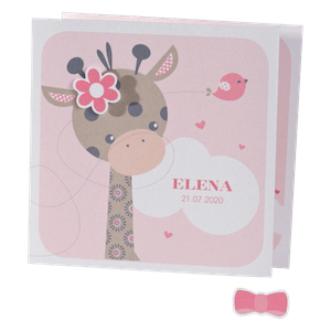 Lief babykaartje met giraffe I Buromac 586040