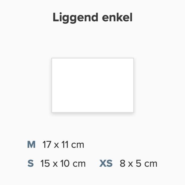 Zelf maken rechthoek liggend enkel