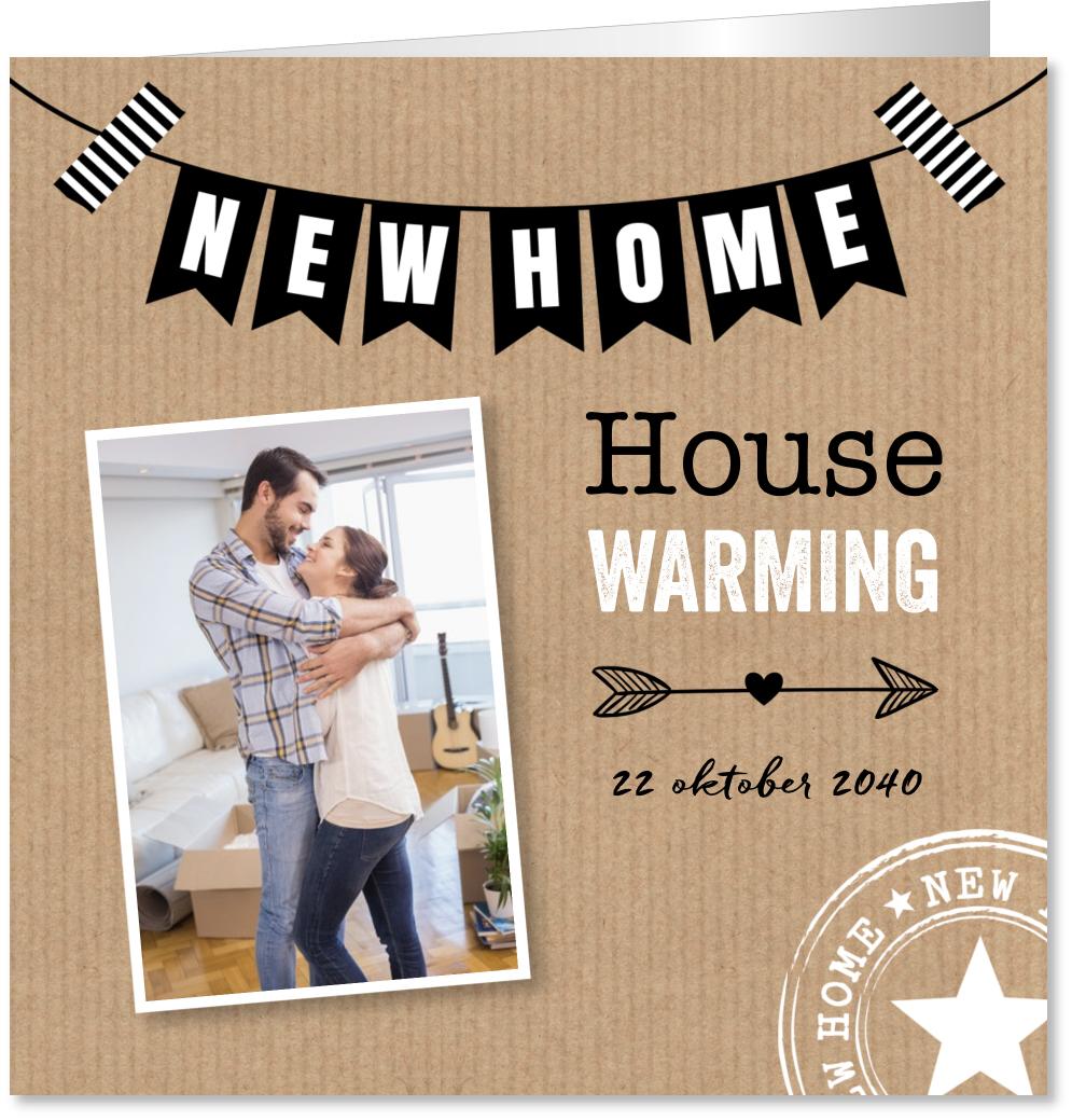 Housewarming uitnodiging