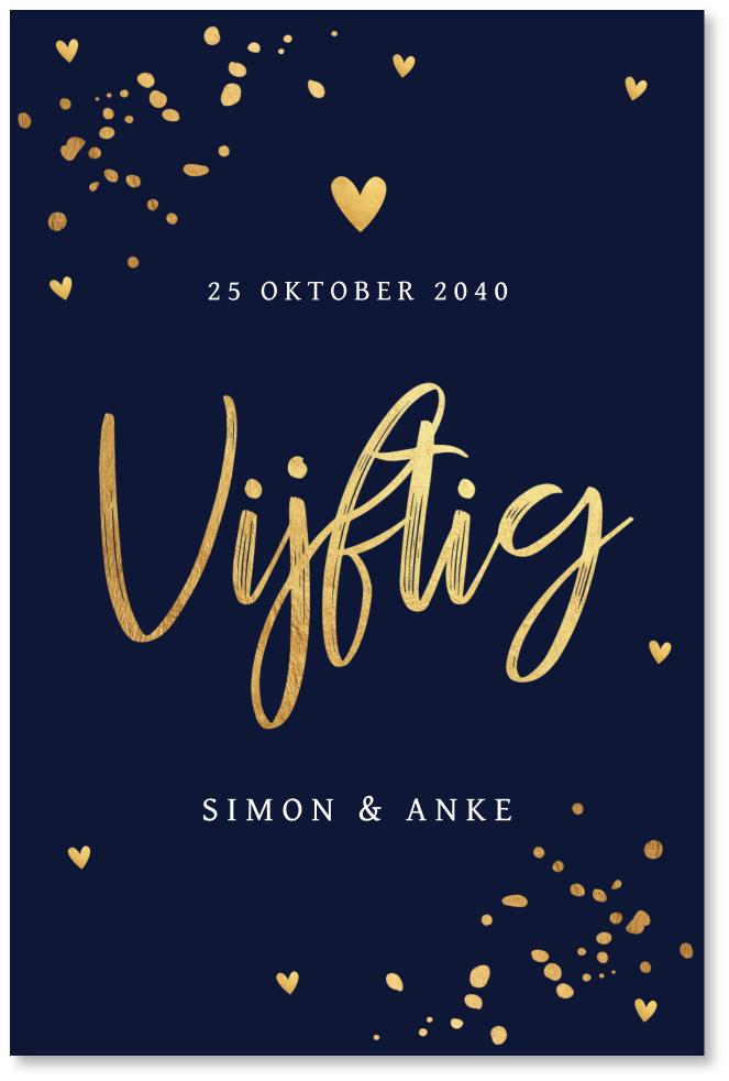 Uitnodiging Jubileum Huwelijk