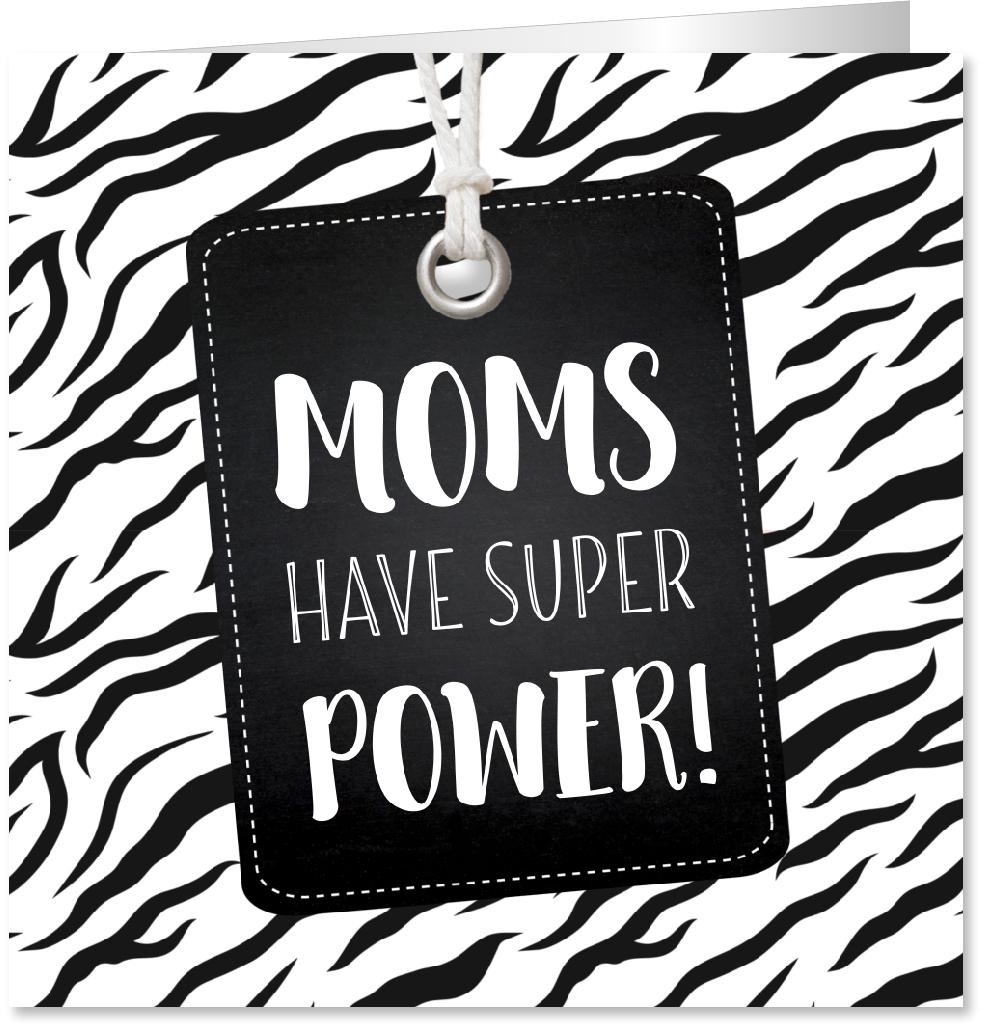 Felicitatiekaart zwangerschap zebra